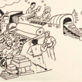 Μικρό αλμανάκ εργατικής εκμετάλλευσης στο χώρο του βιβλίου