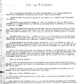 Η εφημερίδα Tribune Ouvrière της Renault: μεταξύ οργανωτικής μορφής και εργατικής γραφής